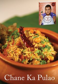 As a vegetarian, how often have you been short-changed when it comes to biryani or pulao? This is one recipe that will help you avenge the times your options were limited to a vegetable pulao.  Chane Ka Pulao is a great option.   #Food #Book #Recipe