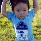Star Wars R2D2 Infant Bodysuit Onesie - Whimsical & Unique Gift Ideas for the Coolest Gift Givers