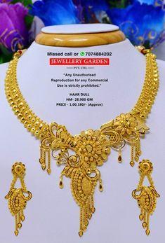 Gold Wedding Jewelry, Bridal Jewelry, Gold Jewelry, Designer Jewellery, Gold Jewellery Design, Gold Choker, Gold Necklace, Bengali Jewellery, Gold Mangalsutra Designs