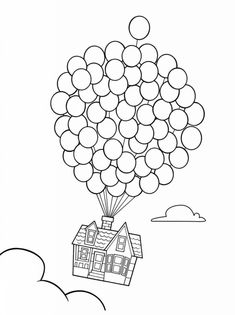 easy Balloon Coloring Pages Finest Coloring Pages For Children on-line Space Coloring Pages, House Colouring Pages, Easy Coloring Pages, Printable Adult Coloring Pages, Coloring Pages To Print, Free Coloring, Coloring Pages For Kids, Coloring Books, Coloring Sheets