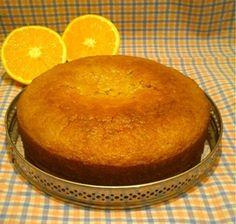 Bizcocho de naranja vegano Sweet Desserts, Healthy Desserts, Sweet Recipes, Vegan Recipes, Cooking Recipes, Orange Sponge Cake, Vegan Pastries, Desserts Sains, Cake Shop