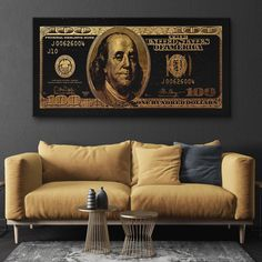 The Gold Standard street art canvas has a fun modern, street art style. Get this money themed, black-and-gold canvas artwork for your home or office wall today! Bff Tats, Hypebeast Room, Jazz Lounge, Lips Painting, Gold Color Scheme, Zuko, Pop Art, Art Photography, Canvas Art