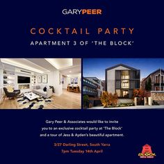 Exclusive Cocktail Invitation
