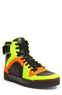 Men's Gucci 'New Basketball' High Top Sneaker