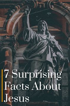 Jesus is one of the most well-known people to ever walk the earth. Yet there's still a lot of misconceptions about him.