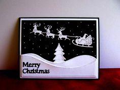 reindeer - Homemade Cards, Rubber Stamp Art, & Paper Crafts - Splitcoaststampers.com