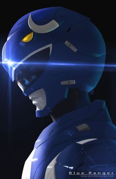 Blue Ranger, Donovan Liu on ArtStation at https://www.artstation.com/artwork/wKGrg