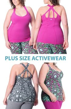 Confident. Casual. Curvy. See our full line of plus size work out apparel. We bring new meaning to fit and fashionable. Check out our Spring & Summer workout clothes and start exercising your power. #RainbeauCurves