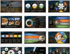 riding a bike PowerPoint by SageFox
