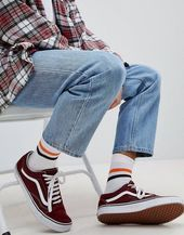 Sneakers street style vans Ideas for 2019 sneakers is part of Sneakers men fashion - Trend Fashion, 90s Fashion, Fashion Outfits, Sneakers Fashion, Mens Fashion Socks, Street Fashion Men, Fashion Styles, Style Fashion, Sneakers Style