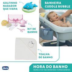 HORA DO BANHO! O banho diário, especialmente durante os primeiros meses de vida, é um momento de mimos e descontração tanto para a mãe como para o bebê. Quanto mais confortável o seu bebê está no banho, maior é a garantia da correta higiene. Na Chicco você encontra todos os itens para garantir o máximo de conforto para o seu bebê.  O banho do seu bebê mais divertido do que nunca!