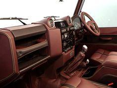 interior land rover defender custom - Buscar con Google