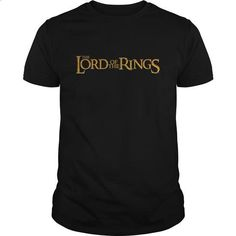 Lord Of The Rings - LOTR Logo - #hoodie novios #sweater for teens. I WANT THIS => https://www.sunfrog.com/Movies/Lord-Of-The-Rings--LOTR-Logo-Black-Guys.html?68278