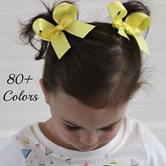 """50 BLESSING Good Girl Boutique 3.5/"""" Silver Wave Stylish Hair Bow Clip"""