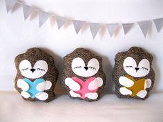 super cute hedgehog pillow/stuffies