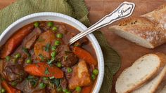 Once Upon a Chef TESTED & PERFECTED RECIPE - The lamb in this delicious stew is braised in a flavorful Guinness-spiked broth until it almost falls apart. Irish Recipes, Lamb Recipes, Soup Recipes, Cooking Recipes, Cooking Time, Yummy Recipes, Irish Stew, Guisado, 185