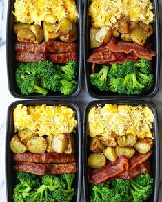 Breakfast Meal Prep 2019 Breakfast Meal Prep Now you can sleep in and eat a filling and hearty breakfast ALL WEEK LONG! Eggs bacon or sausage roasted potatoes and broccoli! The post Breakfast Meal Prep 2019 appeared first on Lunch Diy. Lunch Box Recipes, Diet Recipes, Healthy Recipes, Meal Prep Recipes, Health Food Recipes, Vegetarian Recipes Dinner, Advocare Recipes, Cheap Recipes, Snacks Recipes
