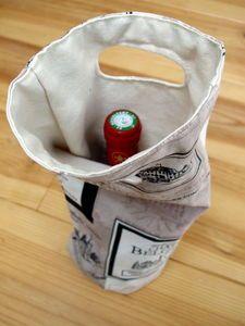 Tuto sac à vin : une idée pour la fête des pères?