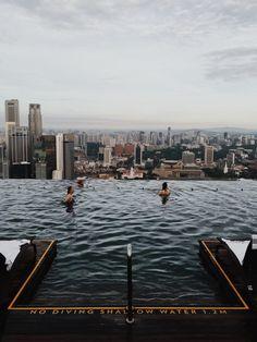 Marina Bay Sands pool | love | VSCO Grid