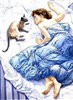 "Francine Van Hove - ""Le chat bleu"", 1984"