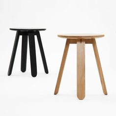 The Half Full Stool - Sustainably sourced oak timber pieces featuring Ross Gardam's unique half turned leg detail - Playful in nature practical and simple in design! Available exclusively through our Australian and Singaporean distributor . Latest Images, Bar Stools, Detail, Simple, Nature, Unique, Furniture, Design, Home Decor