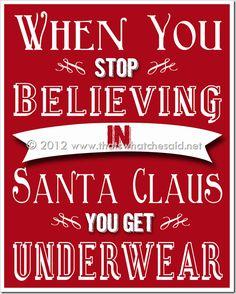 Free Christmas Printable at thatswhatchesaid.net. #christmas #printables