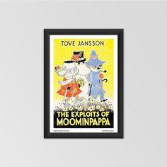 Moomin poster - The Exploits of Moominpappa