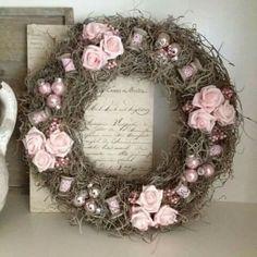 Krans roze