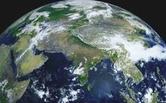 This timelapse video shows the daily rotation of planet Earth in 4K resolution   using images taken from a Russian weather satellite