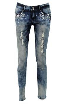 4- Pocket  Skinny Jean                                                                               front view