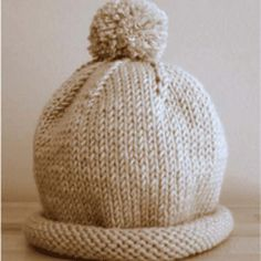 Basic-Baby-Hat-Free-Pattern
