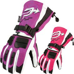 Arctiva Comp Insulated Womens Sled Snowboarding Snowmobile Gloves