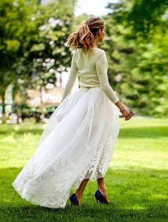 Olivia Palermos brudekjole.