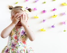 Kids photography, flower wall, lifestyle photography, floral dress, kids style Lifestyle Photography, Children Photography, Flower Wall, Kids Fashion, Floral, Flowers, Dresses, Vestidos, Kids Outfits