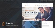 Finanza v1.03 – Business & Financial WordPress Theme