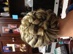 More wedding hair
