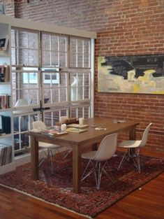 use old windows for dividers
