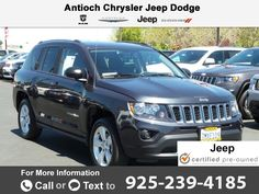 2016 *Jeep*  *Compass* *Sport* Call for Price  miles 925-239-4185 Transmission: Automatic  #Jeep #Compass #used #cars #AntiochChryslerJeepDodgeRam #Antioch #CA #tapcars
