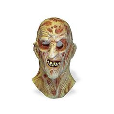 A Nightmare On Elm Street Freddy Krueger Costume Deluxe Overhead Mask Transform yourself into freddy krueger from nightmare on elm st, with rubies help, of Easy Halloween Costumes Kids, Holiday Costumes, Halloween Costume Accessories, Halloween Goodies, Halloween Season, Spirit Halloween, Halloween Masks, Adult Costumes, Halloween Stuff