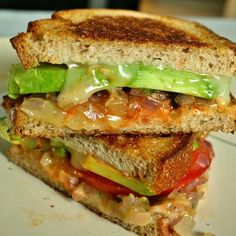 Dressed Up Grilled Cheese Sandwiches - Farmhouse Rules
