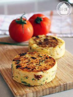 Vegetarian Cooking, Healthy Cooking, Vegetarian Recipes, Healthy Recipes, No Salt Recipes, Vegetable Recipes, How To Cook Polenta, Good Food, Yummy Food