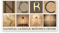 The National Catholic Bioethics Center (NCBC), established in 1972, conducts research, consultation, publishing and education to promote human dignity in health care and the life sciences, and derives its message directly from the teachings of the Catholic Church.