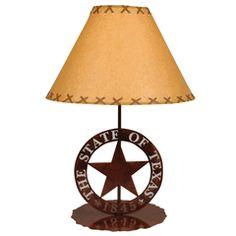Ordinaire Texas Star Table Lamp