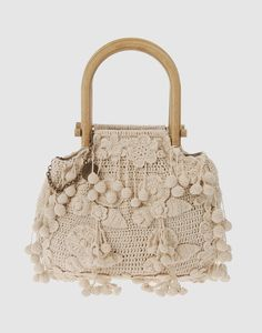 crocheted bag by Stella McCartney  Peccato quei brutti manici...