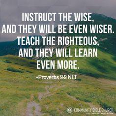 Proverbs 9:9
