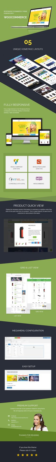 We are happy to announce our new theme: Zidane – Woocommerce                   Responsive Wordpress  Theme.  Zidane is a Woocommerce Responsive Wordpress Theme suitable for any kind of e-Cigarette ...