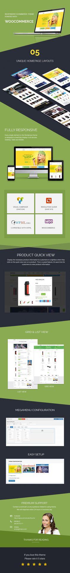 The Retailer - Responsive WordPress Theme | Beautiful y Comercio ...