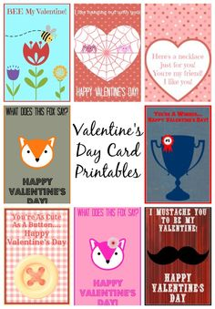 valentines day card collage