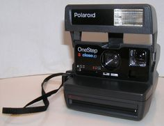 POLAROID One Step Close Up Fixed Focus Instant 600 Film Camera Untested #Polaroid