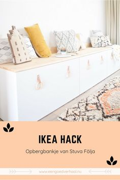 Good Cost-Free DIY Ikea Stuva - een bankje aan de eettafel - Een goed verhaal Tips There's nothing Greater when compared to a ingenious IKEA Hack of used region, and it is a great Modern Kids Furniture, Retro Furniture, Ikea Furniture, Luxury Furniture, Furniture Outlet, Furniture Stores, Furniture Market, Furniture Ideas, Banquette Ikea